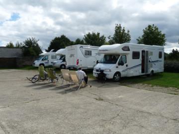 Aire camping-car à Pouancé (49420) - Photo 1